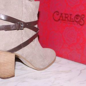 Carlos Santana Ankle Booties